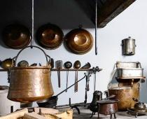 Foto: Hist. Küche im Stadtmuseum Fembohaus