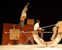 Bitte nicht Stören (4+), Vaivén Circo, Spanien. Foto: Vaivén Circo