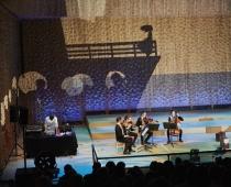 Reise in eine Neue Welt (7+), Ensemble Resonanz  & Elbphilharmonie. Foto: Claudia Hoehne