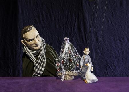 Foto: Die Weihnachtsgans Auguste, Theater Salz+Pfeffer // Sarah Schwerda