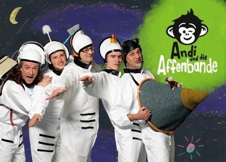 Foto: Andi und die Affenbande // PR-Foto