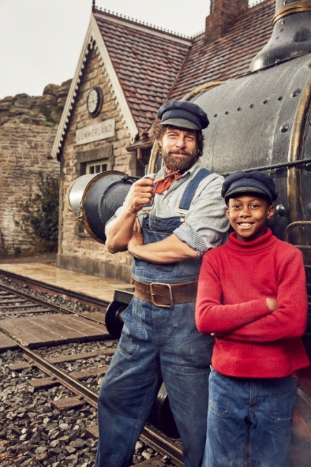 Jim Knopf & Lukas der Lokomotivführer, Foto: Warner Borthers
