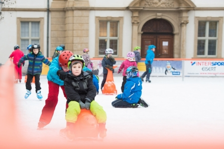 Erlangen on Ice // Foto: Anne Zarncke